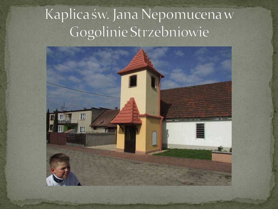 Kaplica św. Jana Nepomucena w Gogolinie Strzebniowie