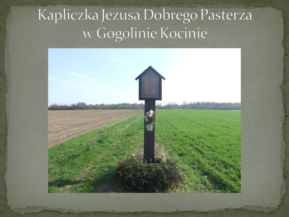 Kapliczka Jezusa Dobrego Pasterza w Gogolinie Kocinie