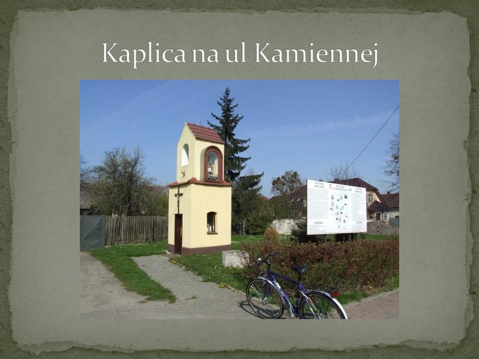Kaplica na ul Kamiennej