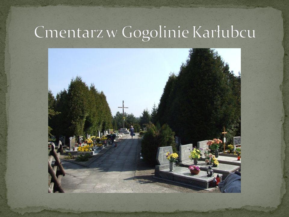 Cmentarz w Gogolinie Karłubcu