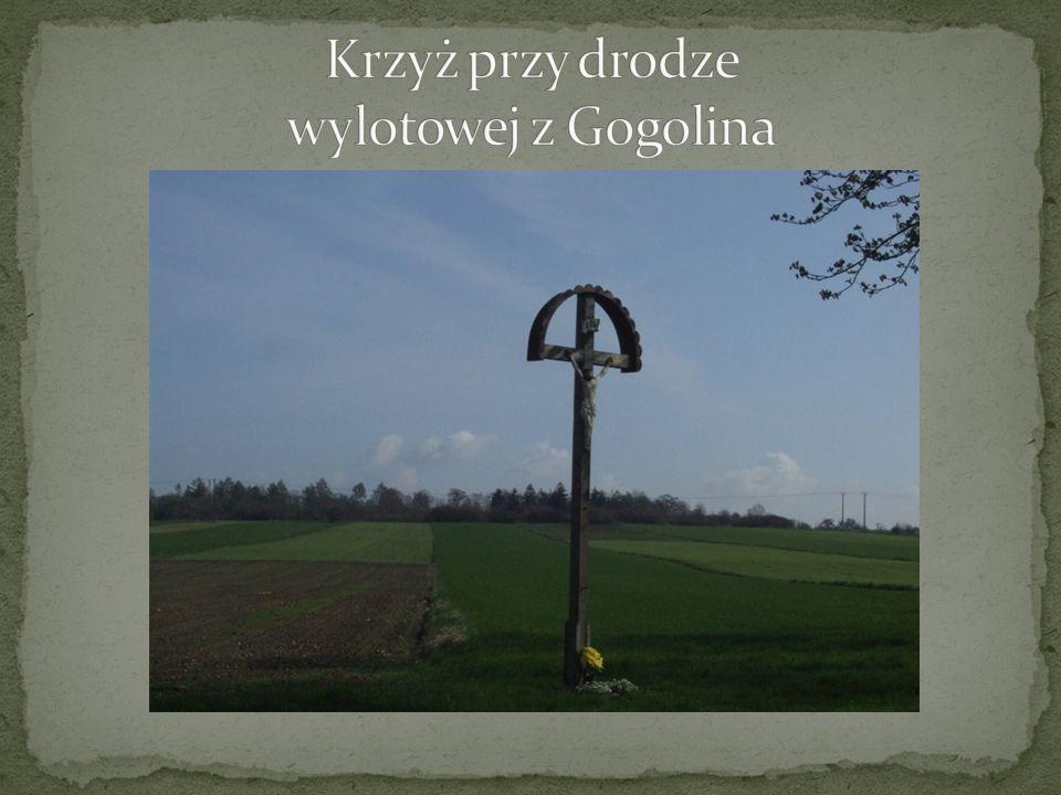 Krzyż przy drodze wylotowej z Gogolina