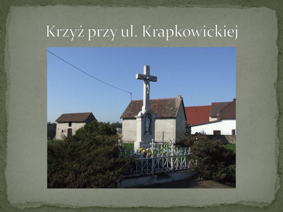 Krzyż przy ul. Krapkowickiej