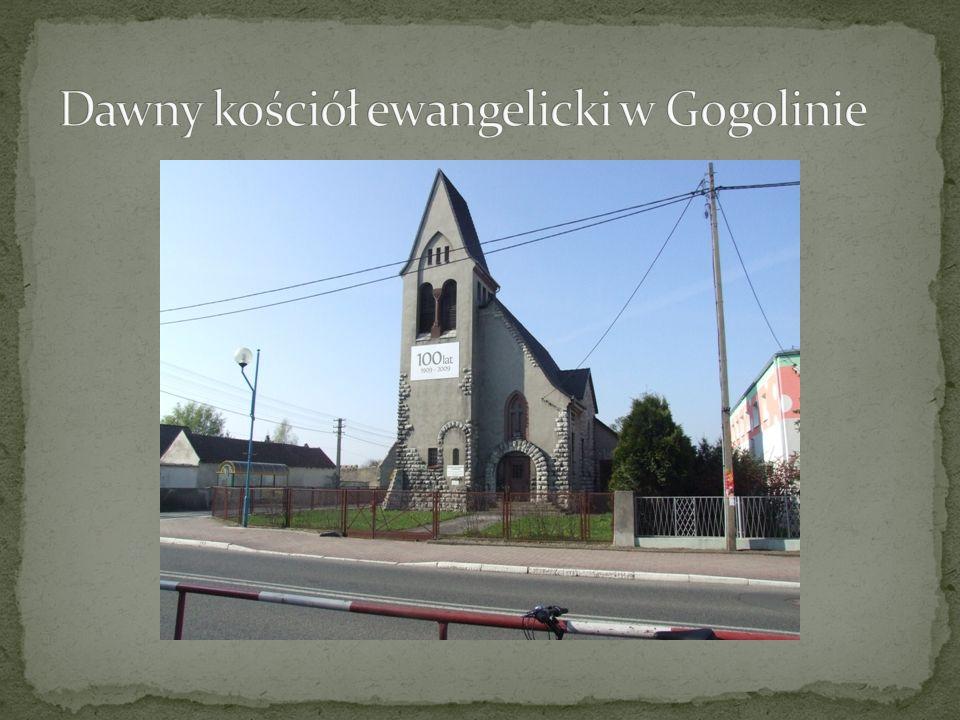 Dawny kościół ewangelicki w Gogolinie