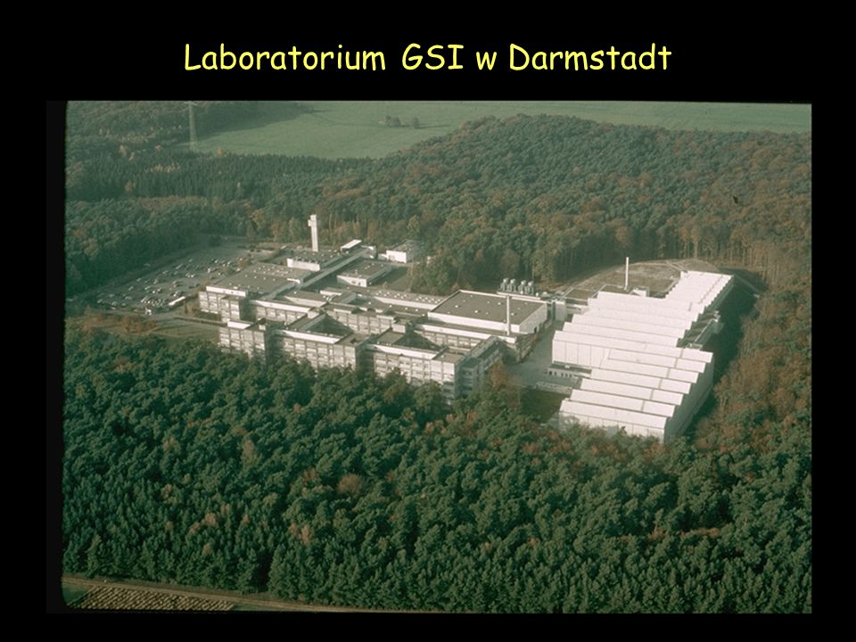 Laboratorium GSI w Darmstadt