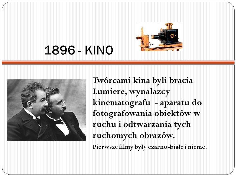 1896 - KINO