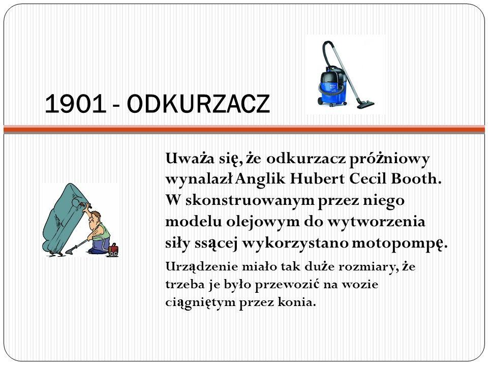 1901 - ODKURZACZ