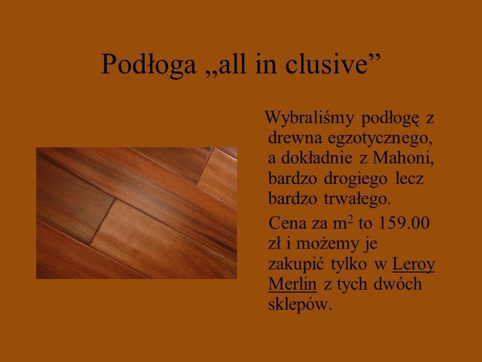 "Podłoga ""all in clusive"
