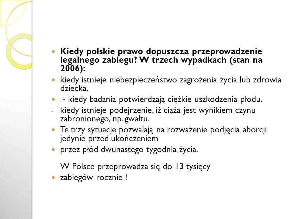 Kiedy polskie prawo dopuszcza przeprowadzenie legalnego zabiegu