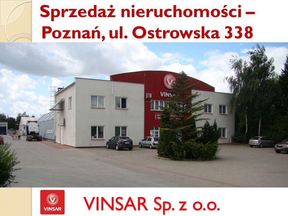 Sprzedaż nieruchomości – Poznań, ul. Ostrowska 338