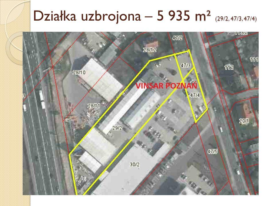 Działka uzbrojona – 5 935 m² (29/2, 47/3, 47/4)