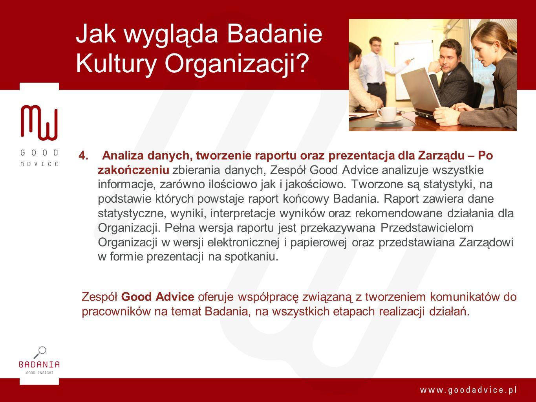Jak wygląda Badanie Kultury Organizacji