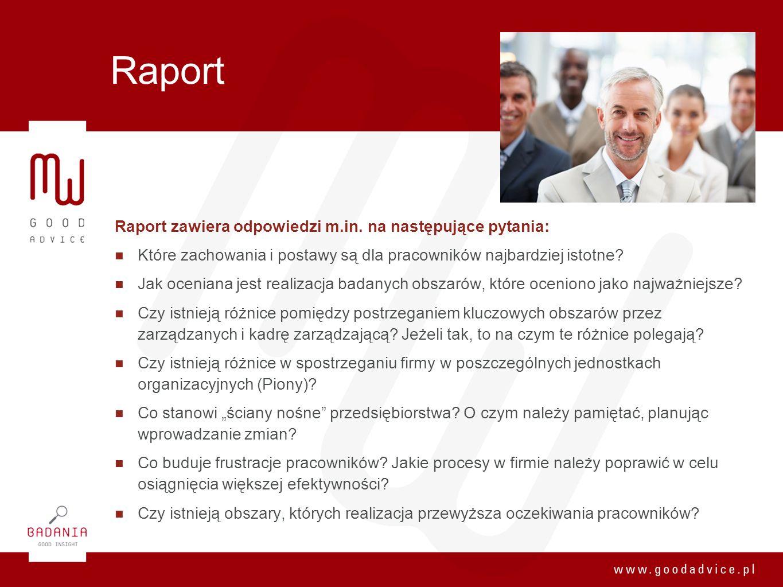 Raport Raport zawiera odpowiedzi m.in. na następujące pytania: