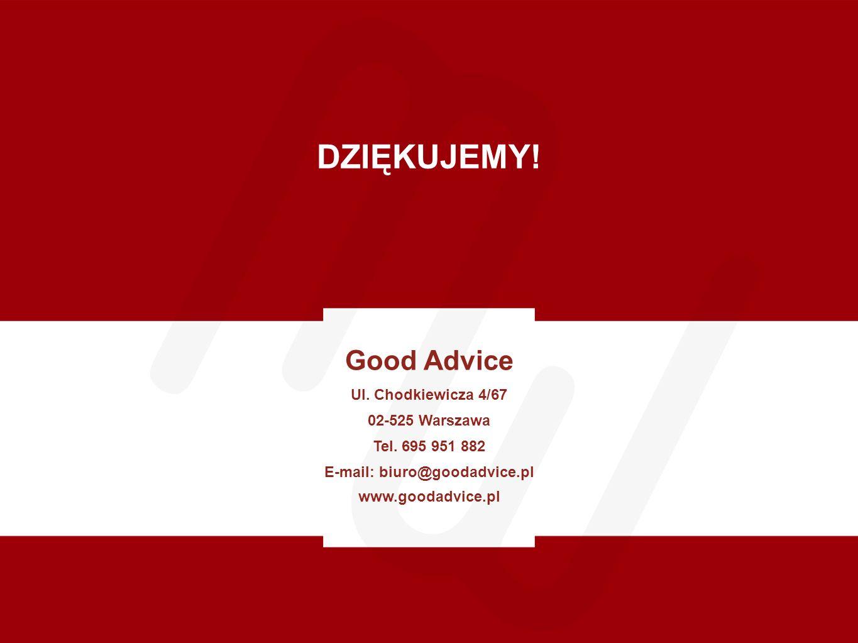 E-mail: biuro@goodadvice.pl