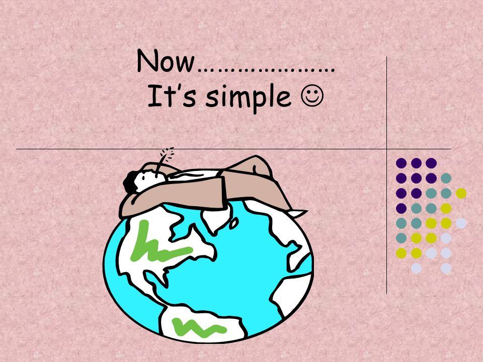 Now………………… It's simple 