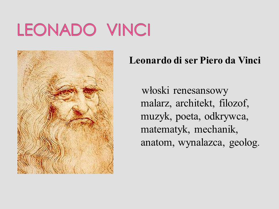 LEONADO VINCI