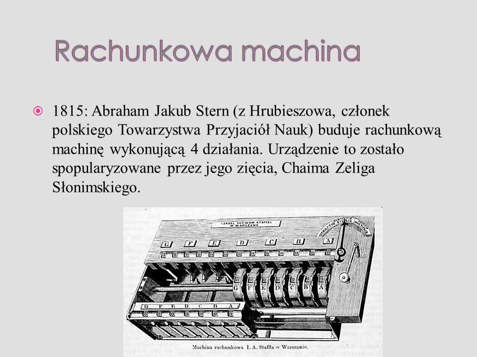 Rachunkowa machina