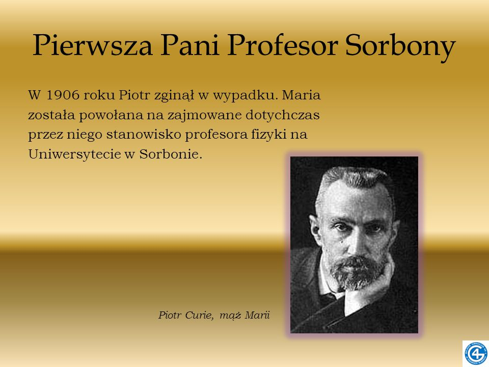 Pierwsza Pani Profesor Sorbony
