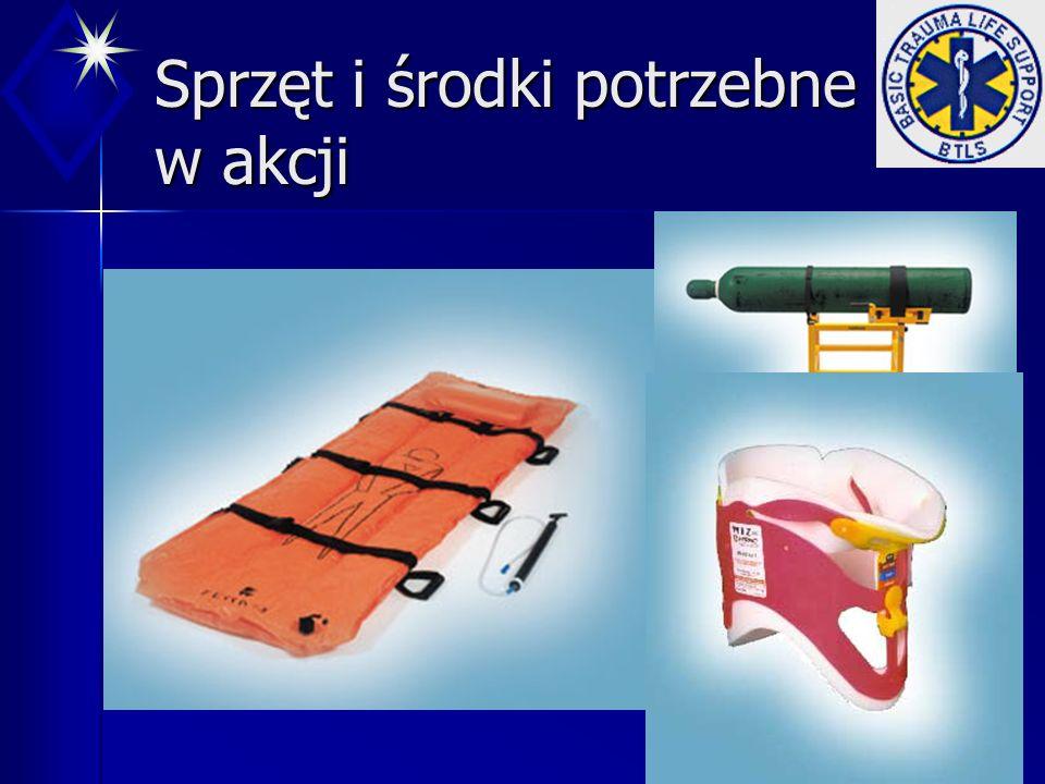 Sprzęt i środki potrzebne w akcji