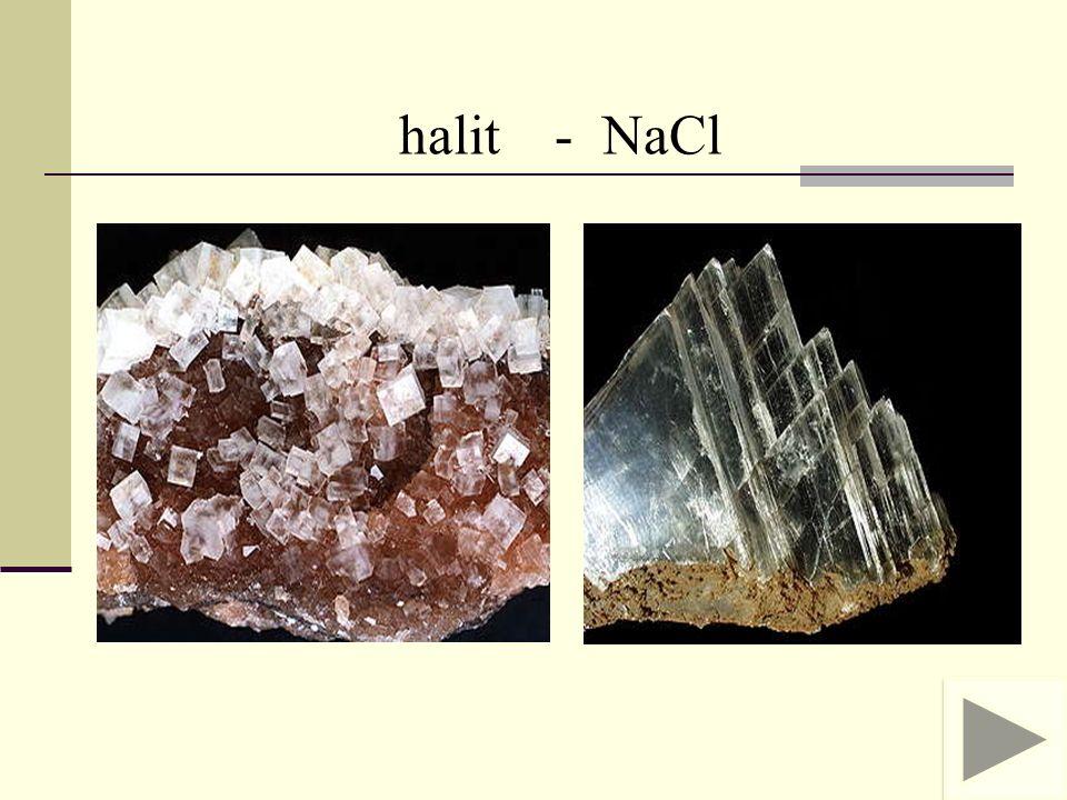 halit - NaCl