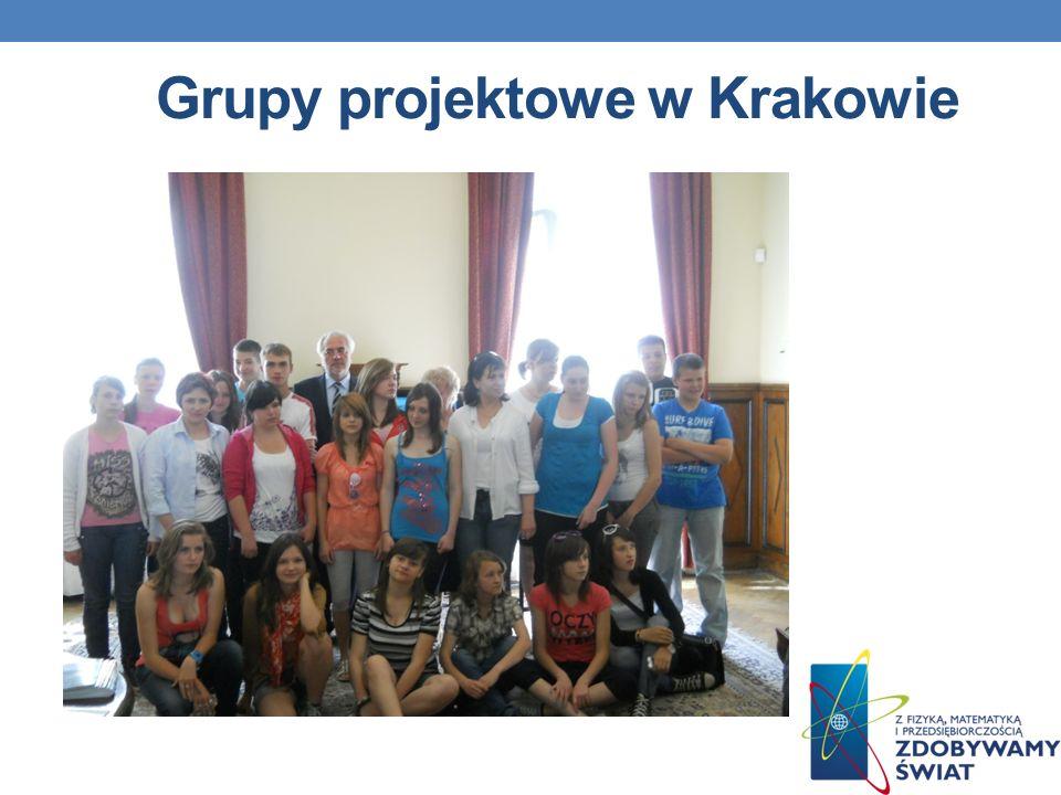 Grupy projektowe w Krakowie