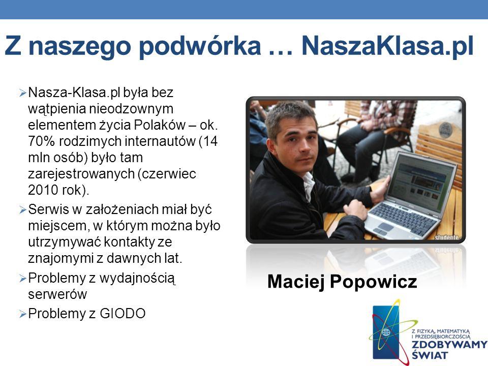 Z naszego podwórka … NaszaKlasa.pl