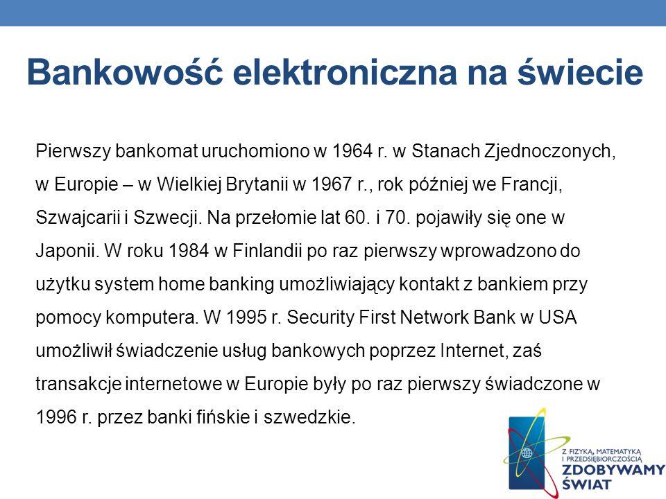 Bankowość elektroniczna na świecie
