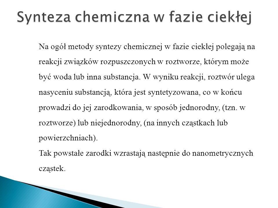 Synteza chemiczna w fazie ciekłej