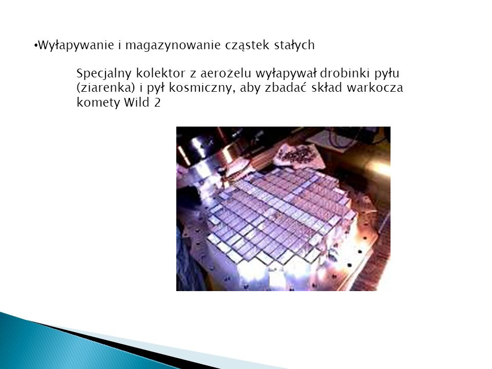 Wyłapywanie i magazynowanie cząstek stałych