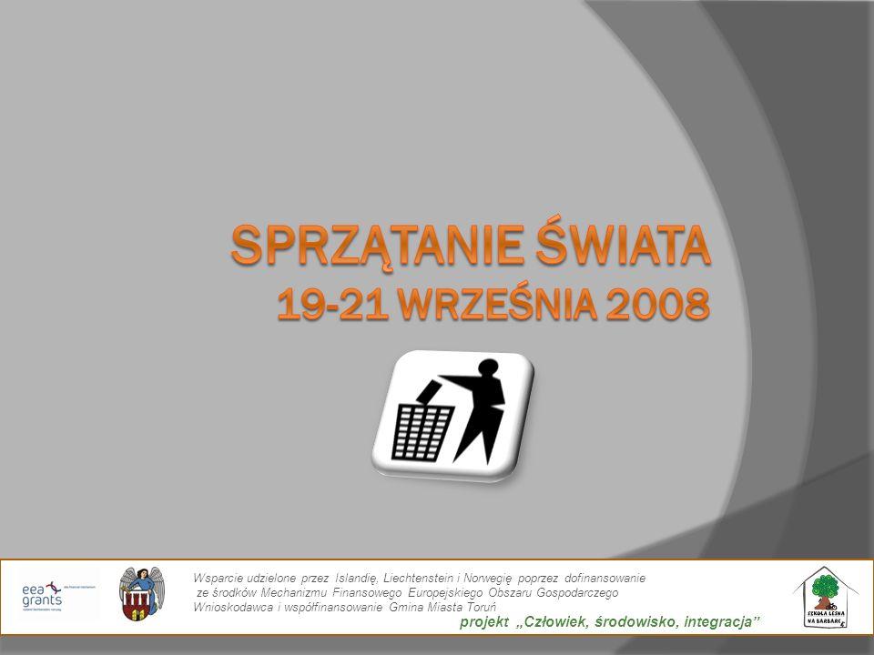 Sprzątanie Świata 19-21 września 2008