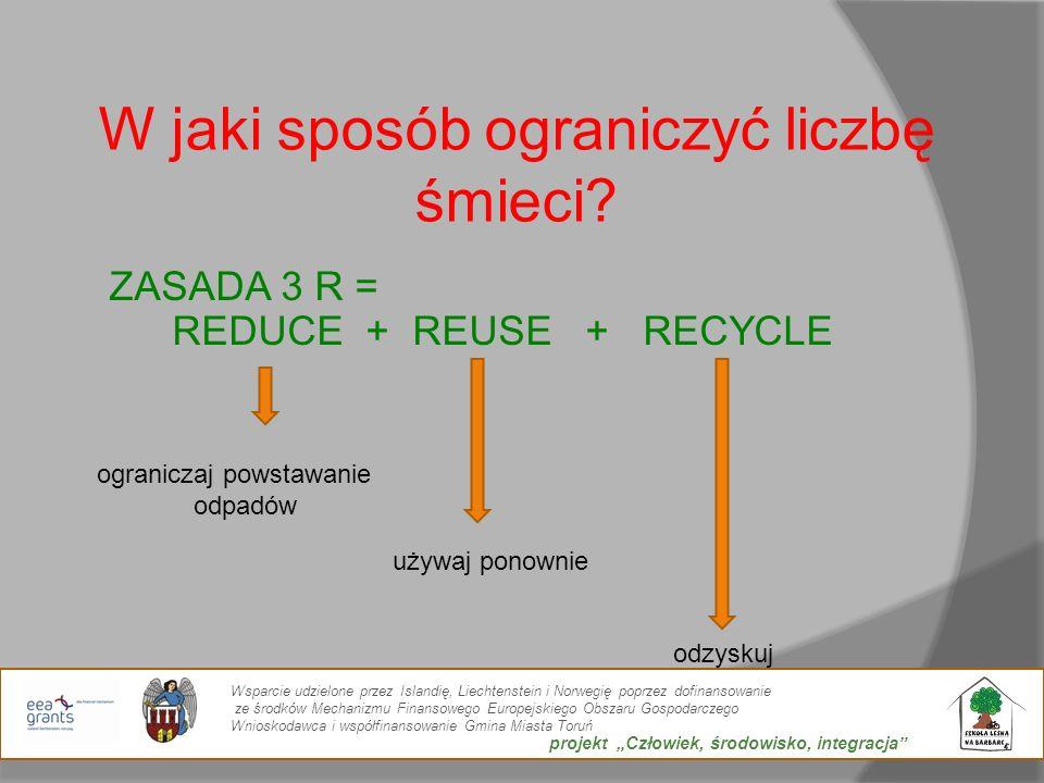 W jaki sposób ograniczyć liczbę śmieci