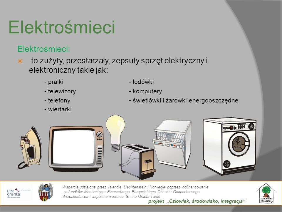 Elektrośmieci Elektrośmieci: