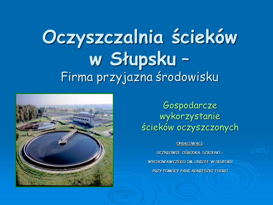 Oczyszczalnia ścieków w Słupsku – Firma przyjazna środowisku