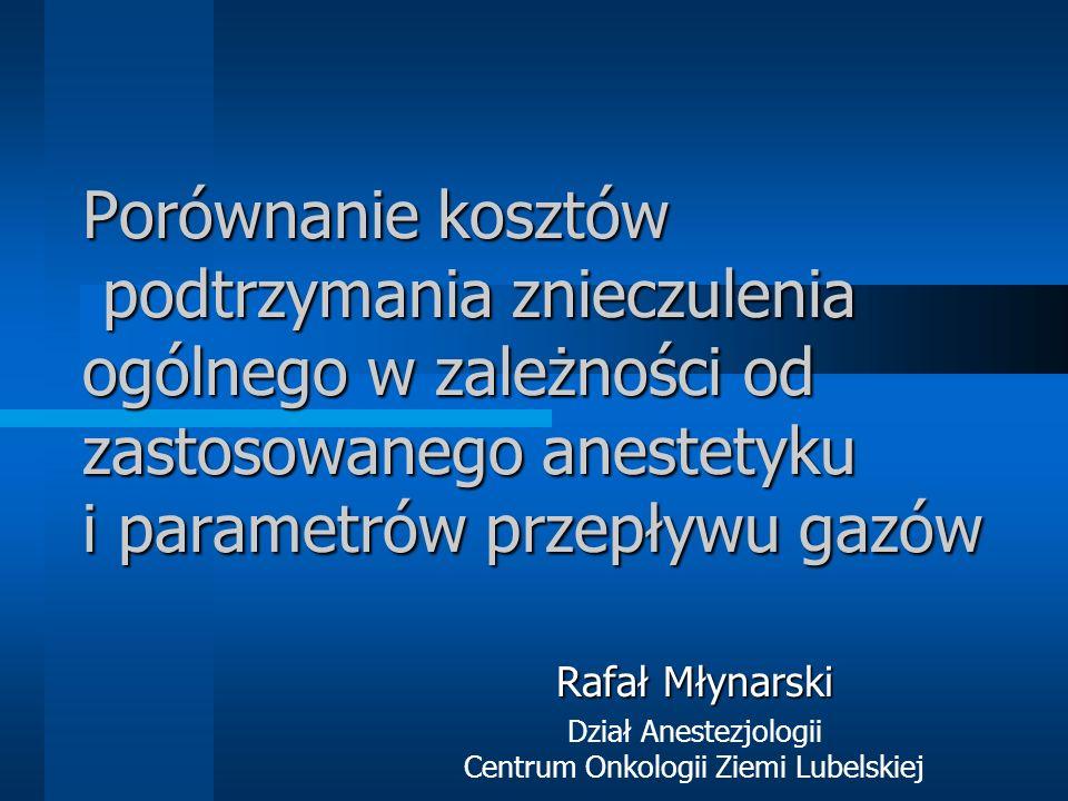 Dział Anestezjologii Centrum Onkologii Ziemi Lubelskiej