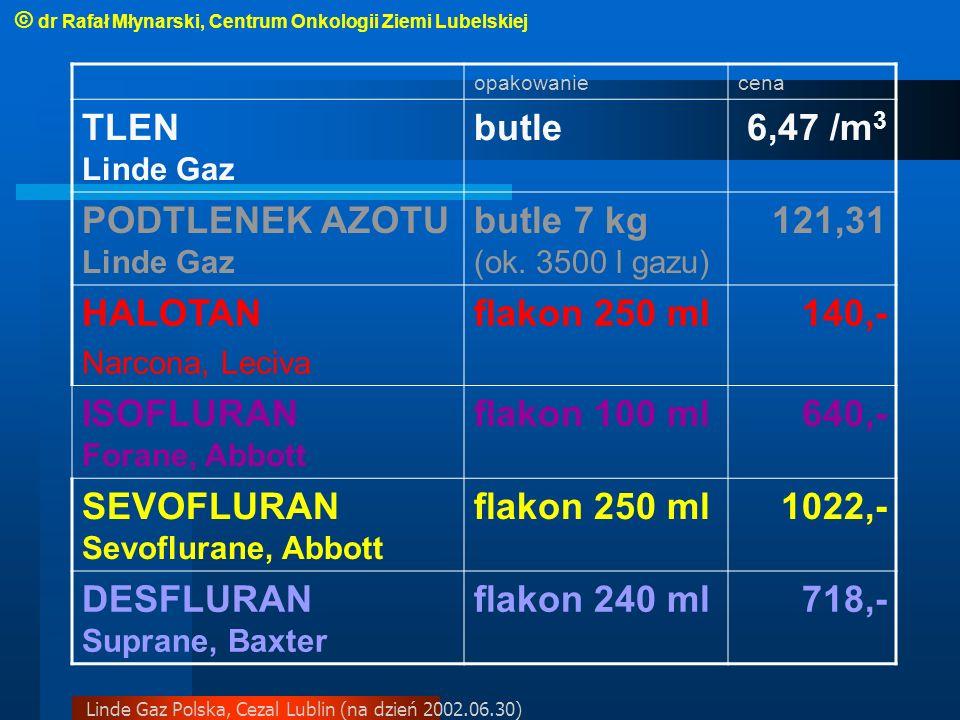 PODTLENEK AZOTU Linde Gaz butle 7 kg (ok. 3500 l gazu) 121,31 HALOTAN