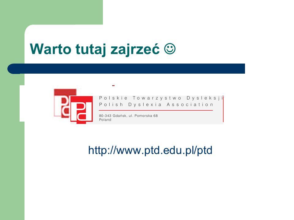 Warto tutaj zajrzeć  http://www.ptd.edu.pl/ptd