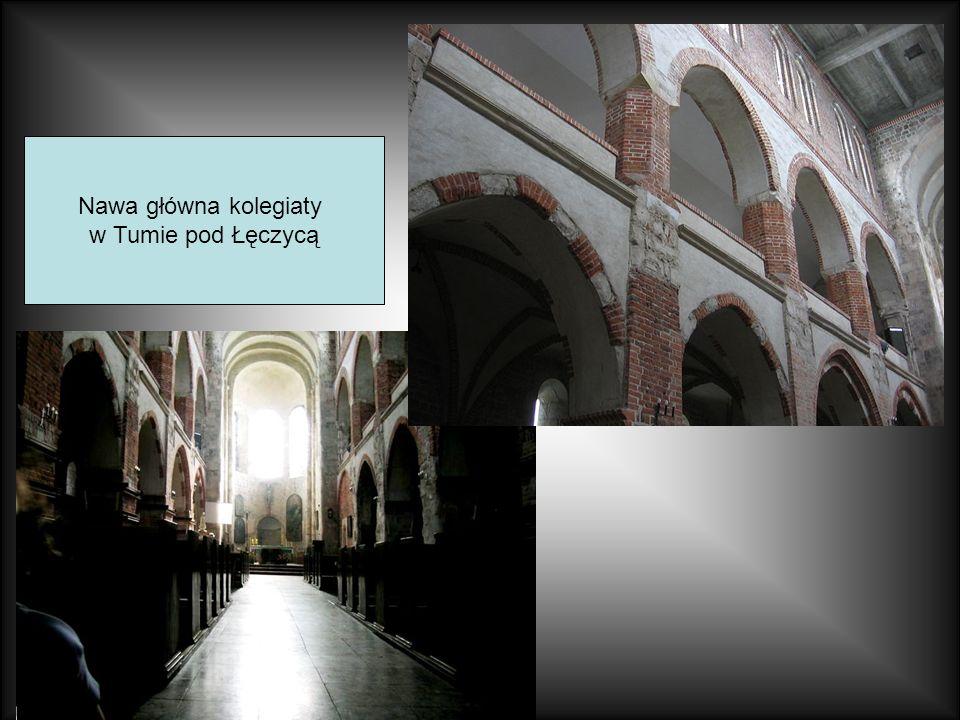 Nawa główna kolegiaty w Tumie pod Łęczycą