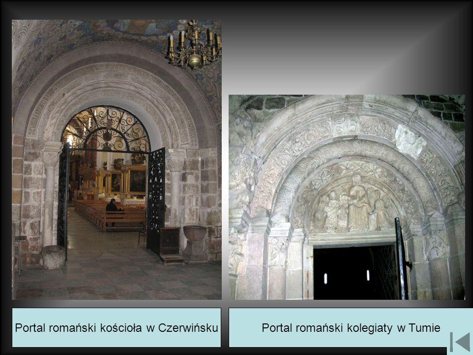 Portal romański kościoła w Czerwińsku