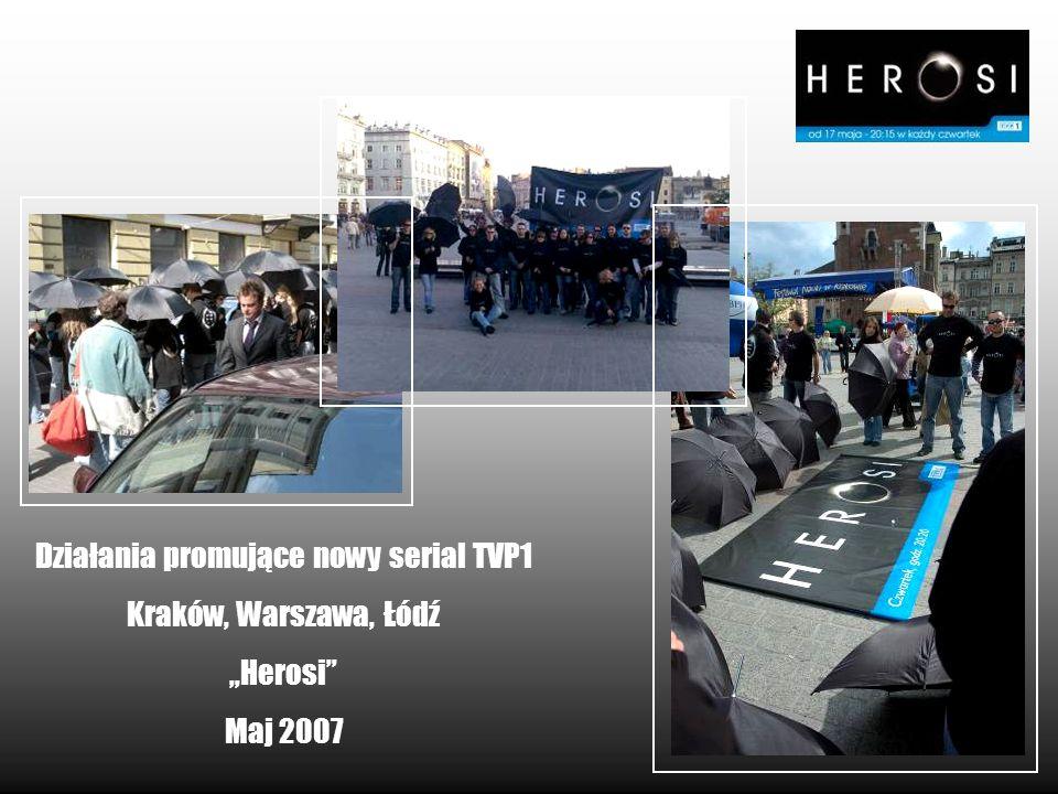 Działania promujące nowy serial TVP1