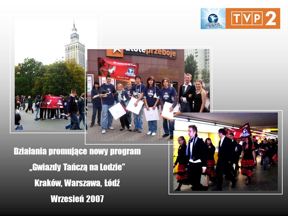 """Działania promujące nowy program """"Gwiazdy Tańczą na Lodzie"""