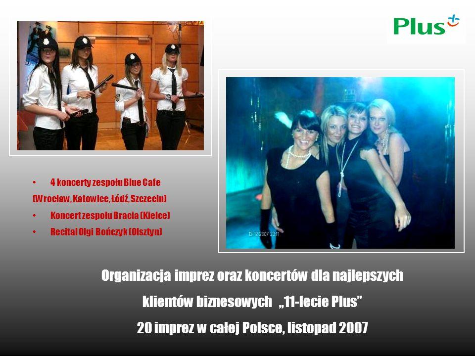 Organizacja imprez oraz koncertów dla najlepszych