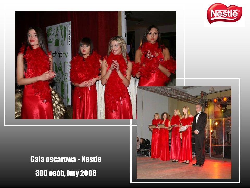 Gala oscarowa - Nestle 300 osób, luty 2008