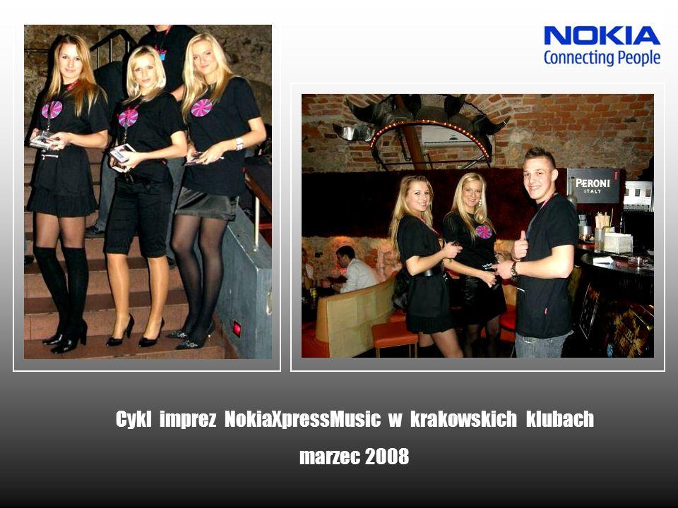Cykl imprez NokiaXpressMusic w krakowskich klubach