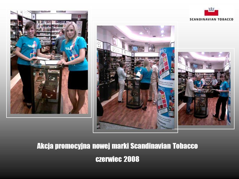 Akcja promocyjna nowej marki Scandinavian Tobacco