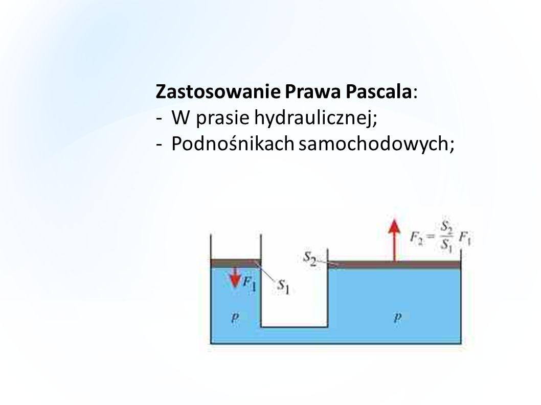 Zastosowanie Prawa Pascala: