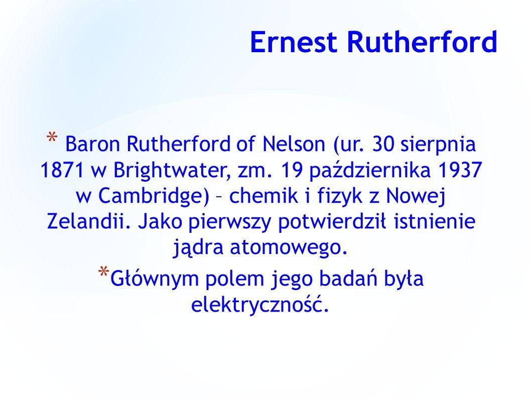 Głównym polem jego badań była elektryczność.