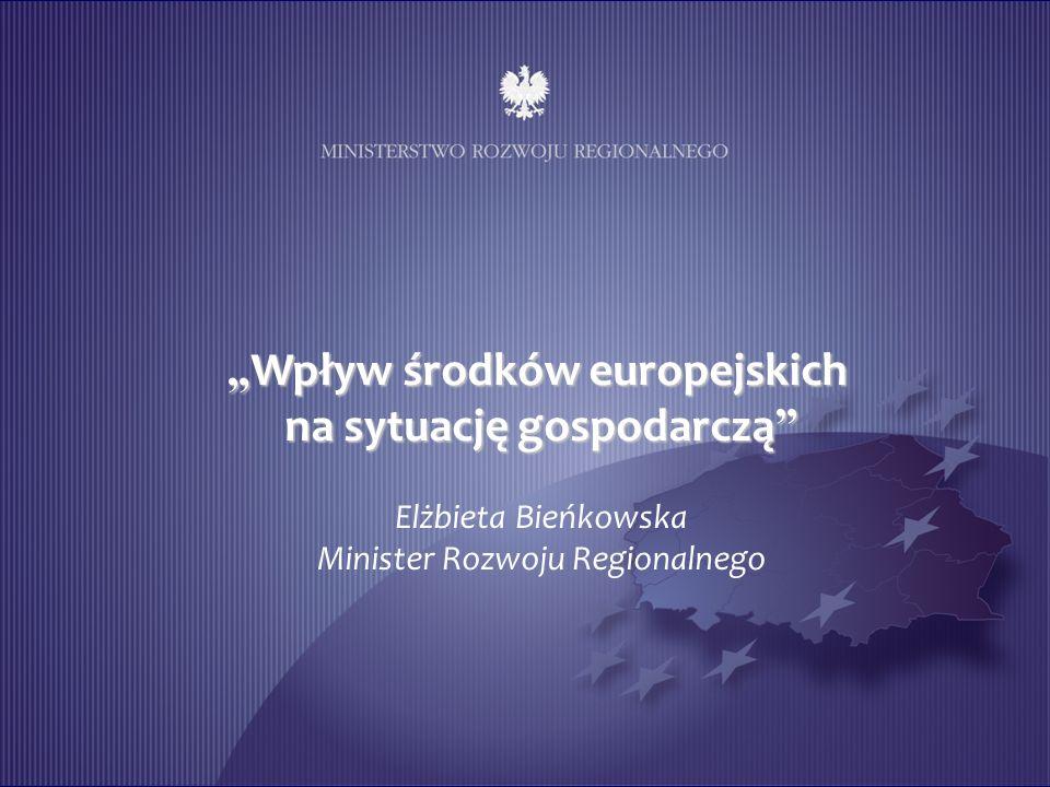 """""""Wpływ środków europejskich na sytuację gospodarczą"""