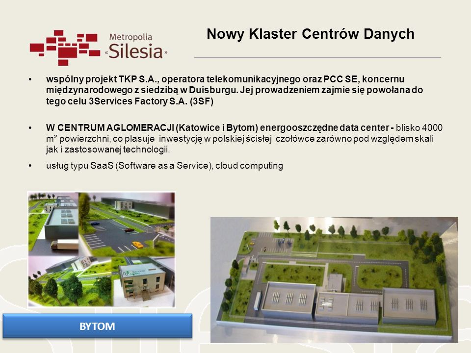 Nowy Klaster Centrów Danych