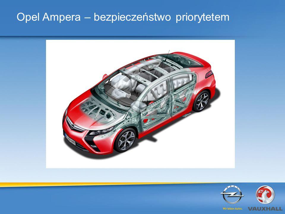 Opel Ampera – bezpieczeństwo priorytetem