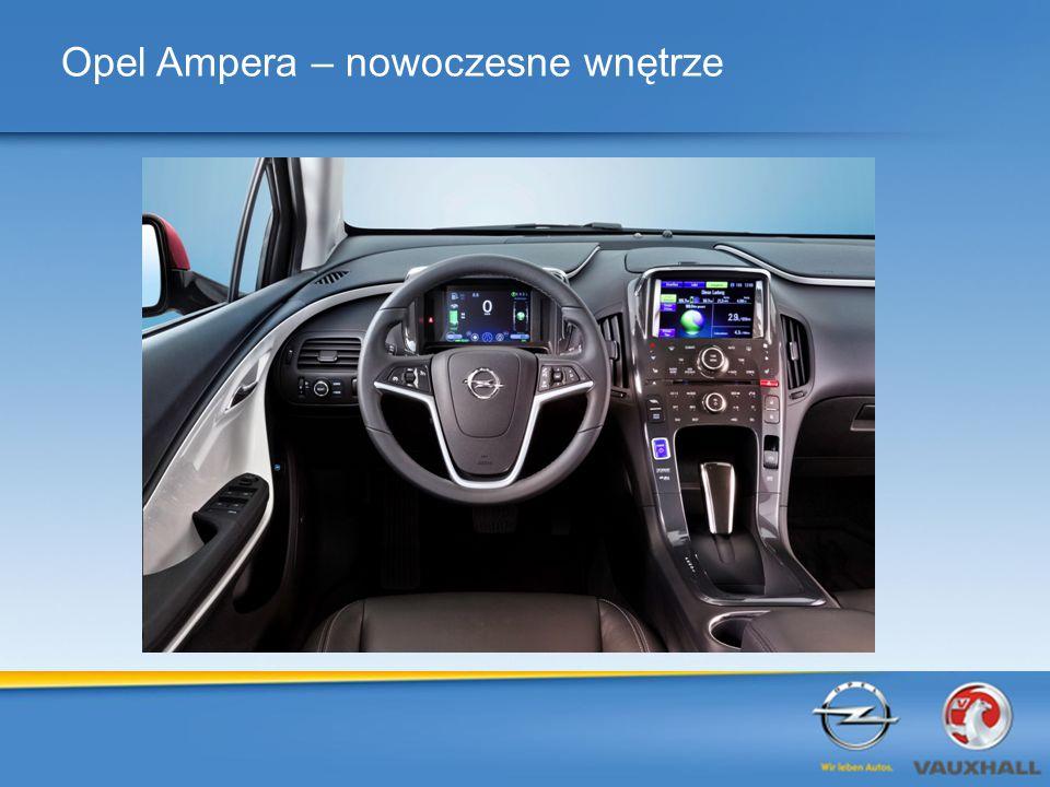 Opel Ampera – nowoczesne wnętrze