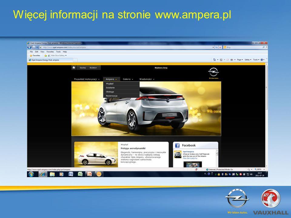 Więcej informacji na stronie www.ampera.pl